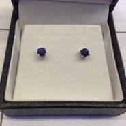 September Special – Sapphire Earrings